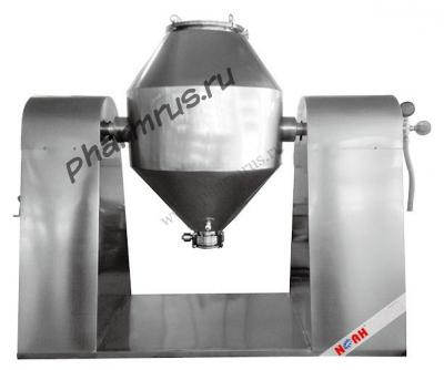 Вращающаяся вакуумная сушилка с двойным конусом SZG