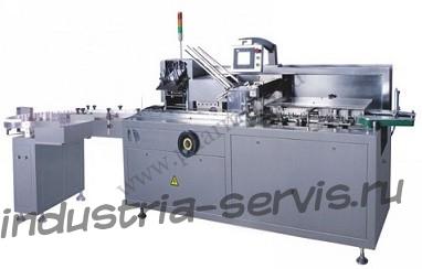 Машина JDZ-100P для укладки и упаковки флаконов в коробку