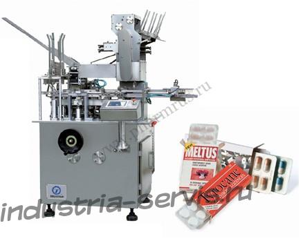 Автомат для укладки и упаковки блистеров в коробку