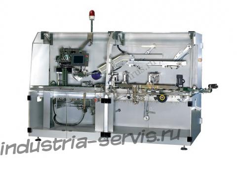Машина HDZ-120 для укладки блистеров в коробку и их упаковку